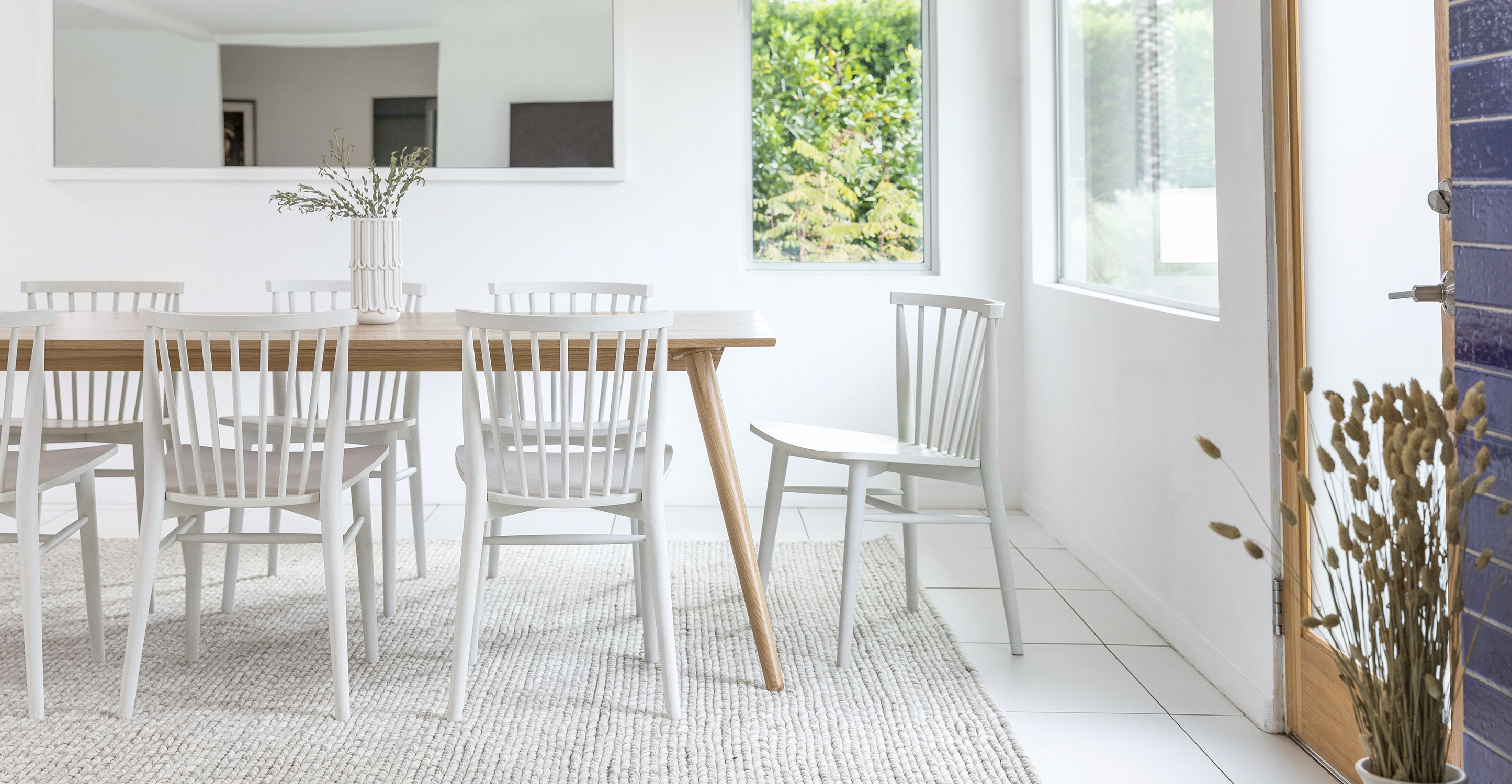 The perfect spread of dining room inspiration, for whatever future you're serving.