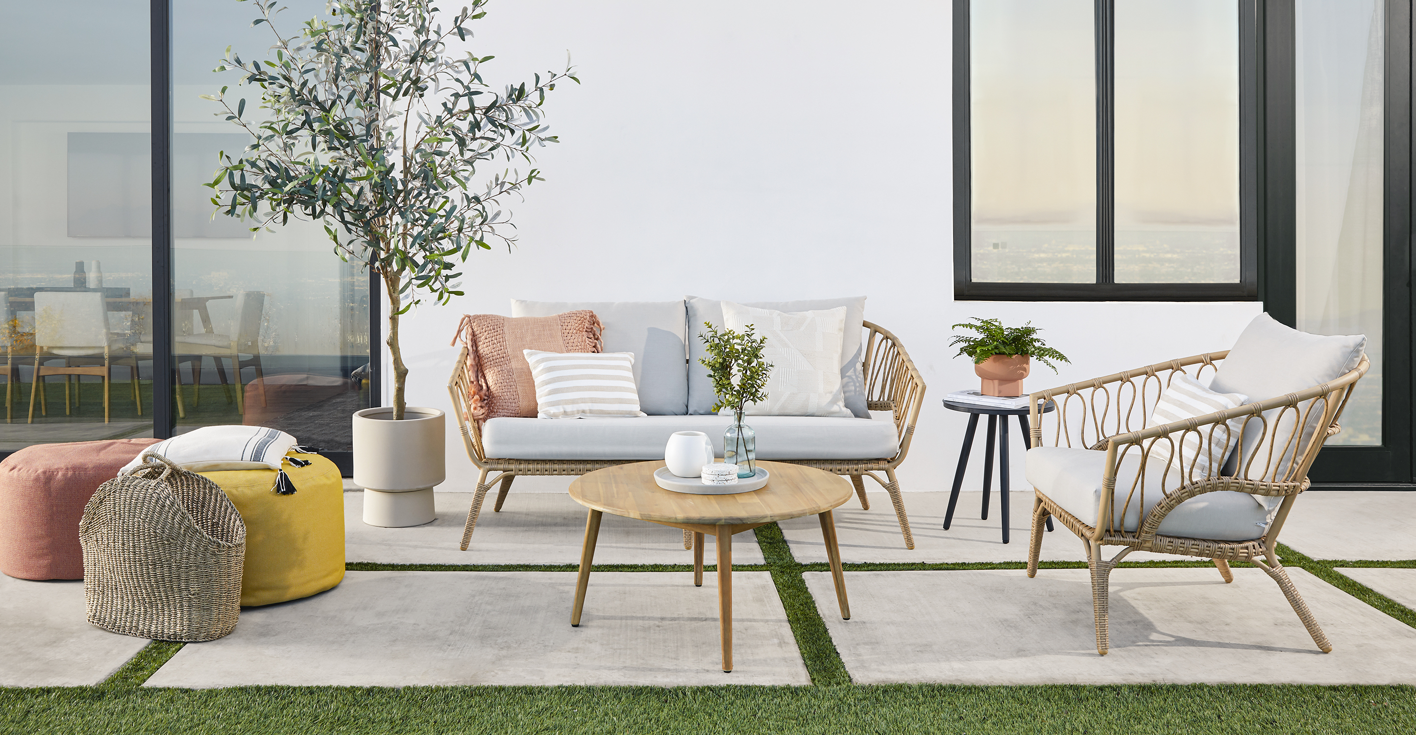 Fresh air and fresh outdoor furniture? A win-win.